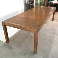 Classic Parsons Form Extendable Dining Table Produced In 1973 By John Widdicomb Co Makers Of