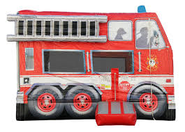 Fire Truck Bounce House - Clowns Unlimited