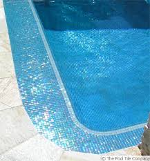gc185 sky blue pearl pool tiles glass mosaic tiles