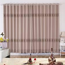 light brown living room modern curtains designs