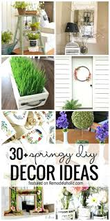 DecorationsSpring Front Door Decor Ideas Spring Table Decorating Pinterest Centerpiece