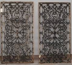 Wrought Iron Decorative Wall Panels Tuscan Decor Throughout Most Recent