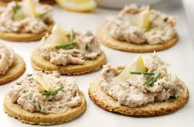pate canapes smoked mackerel pate and oatcakes tesco food