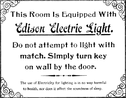 the dollar cost of using edison light bulbs