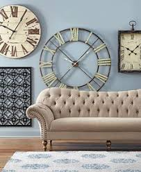 For An Update That Takes Very Little Time Add A New Wall Clock Itll Make Counting The Minutes Until Spring More Bearable Whether In Your Living Room