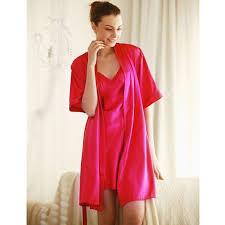 robe de chambre satin de chambre femme satin pas cher peignoir coton bio nuit robes de