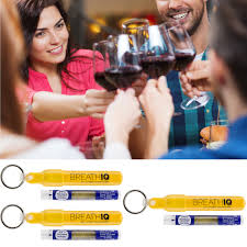 Breath IQ Breathalyzer Personal Blood Alcohol Level Tester Tubes