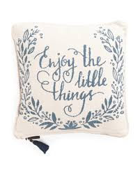 Tj Maxx Christmas Throw Pillows by Made In India 20x20 Reversible Pillow Holiday T J Maxx