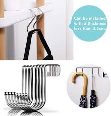 badezimmer tür zum aufhängen taschen handtüchern 4 stück