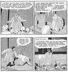 Biography Of Louis Riel Excerpts From A Comic Strip By Chester Brown
