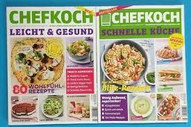 chefkoch spezial 1 2020 leicht gesund 2 2020 schnelle küche