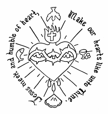 Free Coloring Pages Of The Sacred Heart Jesus