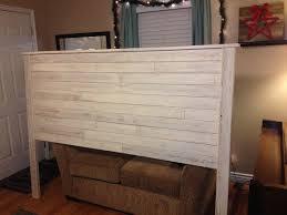 top reclaimed wood headboard king reclaimed wood look headboard