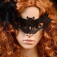 Halloween Silicone Half Masks by Halloween Bat Lace Half Mask For Women 2016 New Arrive Fashion