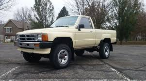 80's Toyota Pickup Trucks Blacks T Wheels Used Four Door Olive Green ...