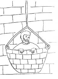 Paul And Barnabas Coloring Pages Bible Stories