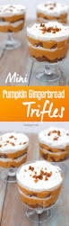 Pumpkin Mousse Trifle by Pumpkin Gingerbread Trifle