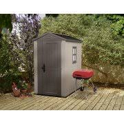 Plastic Storage Sheds Walmart by Keter Factor 4 U0027 X 6 U0027 Resin Storage Shed All Weather Plastic