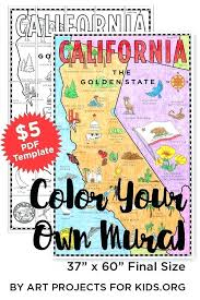 Map Poster Mural Art Projects For Kids X Of Florida West Coast