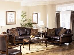 Brown Leather Sofa Living Room Ideas by Ashley Furniture Living Room Antique Living Room Set