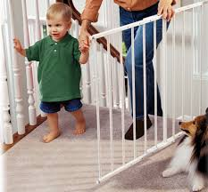 Safeway ® Top Of Stair Baby Safety Gate Baby Gate For Stairs With Banister Ipirations Best Gates How To Install On Stairway Railing Banisters Without Model Staircase Ideas Bottom Of House Exterior And Interior Keep A Diy Chris Loves Julia Baby Gates For Top Of Stairs With Banisters Carkajanscom Top Latest Door Stair Design Wooden Rs Floral The Retractable Gate Regalo 2642 Or Walls Cardinal Special Child Safety Walmartcom Designs