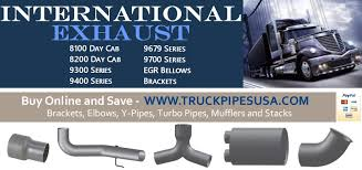International Exhaust Pipes | 1/2 Price OEM Aftermarket ... Radio Wiring Diagram Along With Intertional Truck Ac 1310 Fuse Box Explore Schematic Harvester Metro Van Wikipedia Kenworth T800 Parts Circuit Of Western Star Hood Diy Enthusiasts Dodge Online Diagrams Electrical House Old Catalog 2016 Chevy Silverado Hd Midnight Edition This Just In Poll The Snowex Junior Sp325 Tailgate Salt Spreader Rcpw