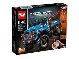 LEGO®Technic 6x6 All Terrain Tow Truck-42070 | Exclusivebrandsonline
