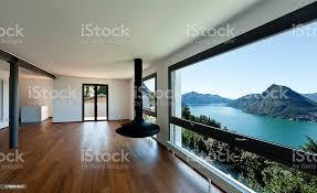 großes wohnzimmer mit panoramafenster stockfoto und mehr bilder architektonisches detail