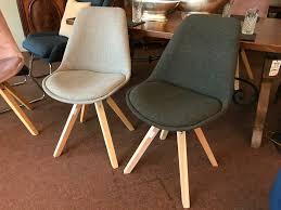 polsterstühle sessel stühle esszimmerstühle grau stuhl holz neu