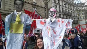 assistance publique hopitaux de siege grève et manifestation des agents de l ap hp contre la réforme du