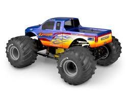 100 Ford Monster Truck JConcepts 2005 F250 Super Duty Body Clear