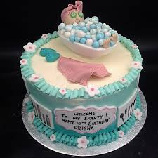 Spa Themed Buttercream Cake