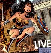 Hippolyta As Wonder Woman From Vol 2 130 Feb 1998 Art By John Byrne And Patricia Mulvihill