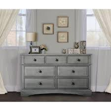 Babies R Us Dressers by Evolur 7 Drawer Double Dresser Storm Grey Toys