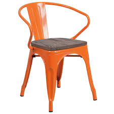 Flash Furniture Orange Metal Chair With Wood Seat And Arms Saddle Leather Ding Chair Garza Marfa Jupiter White And Orange Plastic Modern Chairs Set Of 2 By Black Metal Cafe Fniture Buy Eiffel Inspired White Orange With Legs Grand Tuscany Total Sizes Wd325xh36 Patio Urban Kitchen Shop Asbury With Chromed Velvet Vivian Of World Market Industrial Design Slat Back Products Flash Indoor Outdoor Table 4 Stack
