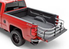 amp research bed x tender hd max rounded truck bed extender