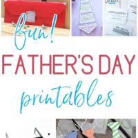 Free And Fun Fathers Day Printables