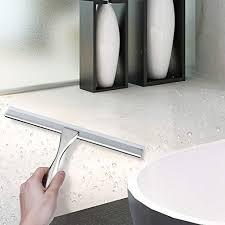aikzik duschabzieher edelstahl duschwischer mit saugnapf