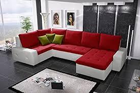 senseo bis bis groß kunstleder und stoff ecke sofa