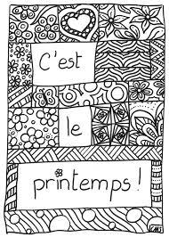 Pâquesprintemps Coloriage Bundle 5 Pages De Coloriage Etsy