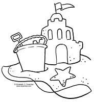 28 Collection Of Sand Castle Drawing