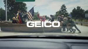 Washington Crossing The Delaware | GEICO - YouTube