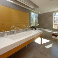 Trough Sink With Two Faucets by Bathroom Rectangle Bathroom Trough Sink With Faucet Combined With