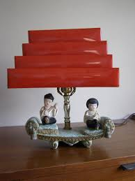 Concord Lamp And Shade by Chalkware Lamp Oriental Pinterest Mid Century Lights And
