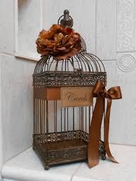 Wedding Card Box Bird Cage Holder Rustic Cardholder Birdcage Decoration