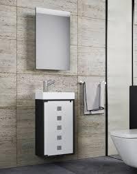 vcm waschplatz waschbecken schrank spiegelschrank wc gäste toilette badmöbel klein schmal blida spiegelschrank vcm gästebad slito mit