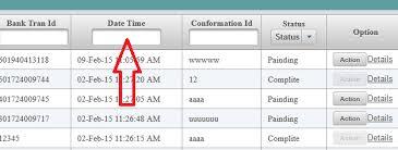 jsf 2 2 Primefaces Datatable date column Filter by calendar