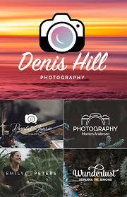 Free Photography Camera Logo Design PSD Template