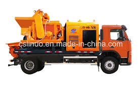 China Diesel Electric Optional Type Small Truck Mounted Concrete ...