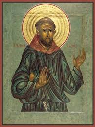 st francis of assisi icon by nicholas markell